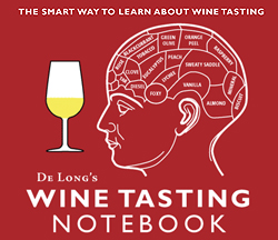 De Long's Pocket Wine Tasting Notebook